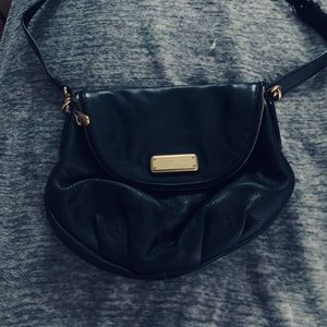 Black Marc Jacobs satchel used once.